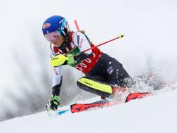 Mikaela Shiffrin, 23 anni. Getty