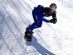 Michela Moioli, 23 anni, in azione sulla neve dello Utah. Afp