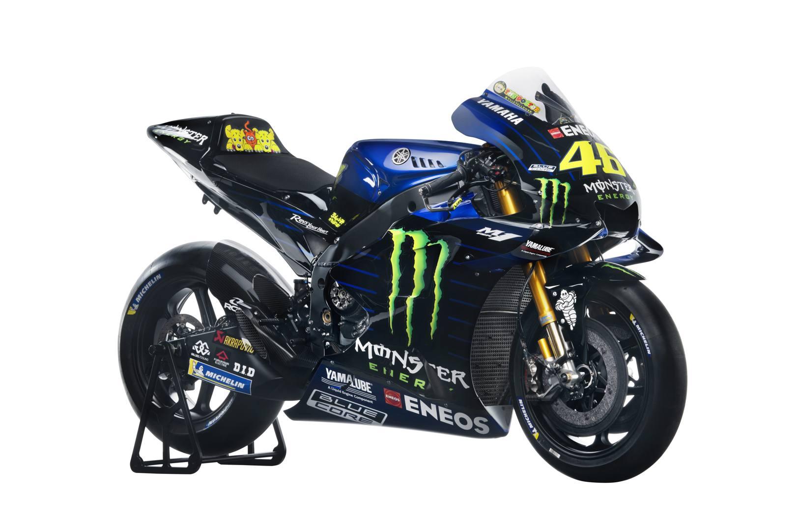 Presentata a Giacarta la nuova Yamaha con cui Valentino Rossi e Maverick Viñales affronteranno il nuovo Mondiale della MotoGP. Eccola in dettaglio