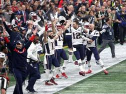 Il Super Bowl è dei Patriots. Afp