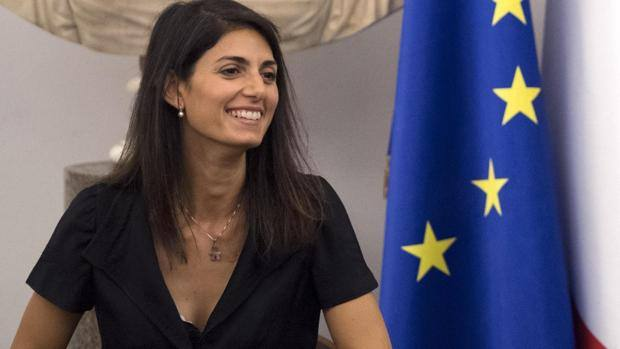 Virginia Raggi, sindaco di Roma. Ansa