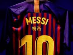 La maglia del Barcellona. Twitter