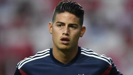 James Rodriguez, 27 anni. Getty