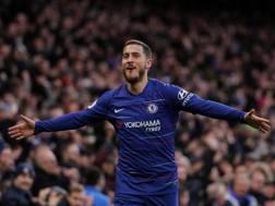 Eden Hazard, attaccante del Chelsea, 28 anni. GETTY