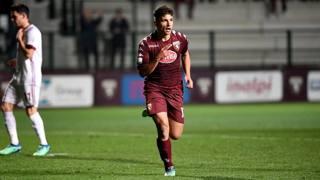 Nicola Rauti, 18 anni, attaccante della Primavera del Torino. LaPresse