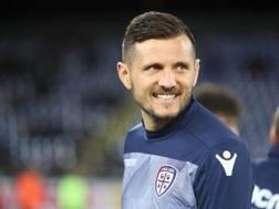 Cyril Théréau, attaccante del Cagliari, 35 anni. Getty
