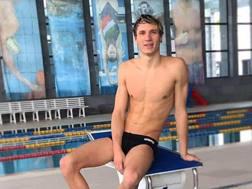 Manuel Bortuzzo, 19 anni ANSA