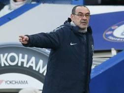 Maurizio Sarri, tecnico del Chelsea. Afp