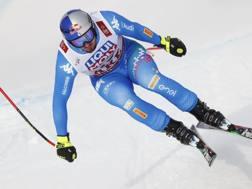 Dominik Paris, 29 anni, oro in SuperG. AP