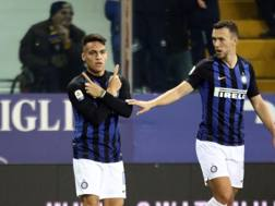 Lautaro Martinez, prima stagione all'Inter. Ansa