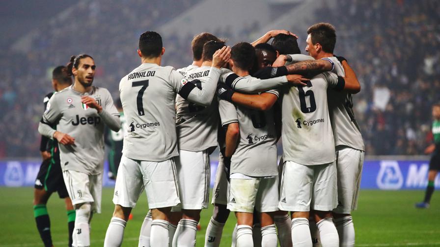 6ac458bcb8bbe2 Sassuolo-Juventus 0-3, reti di Khedira, Ronaldo ed Emre Can - La ...