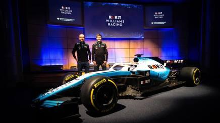 Robert Kubica e George Russell con la nuova Williams 2019