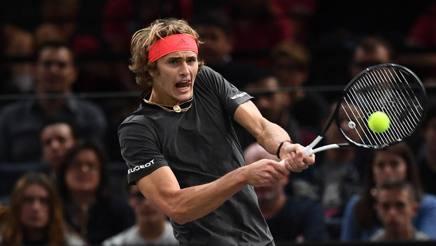 Alexander Zverev, 21 anni, ha vinto l'ultima edizione del Masters. Afp