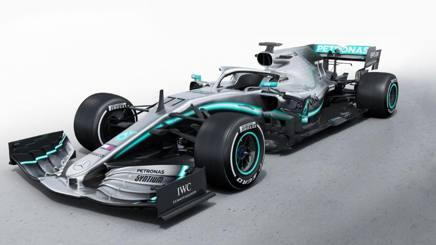 La nuova Mercedes in una foto tratta dal profilo Instagram ufficiale