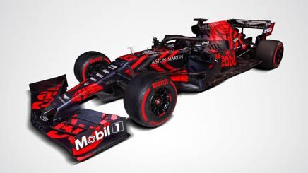 La livrea della nuova Red Bull RB15