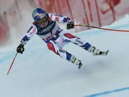 Il francese Alexis Pinturault , ad Are  oro nella combinata. Afp