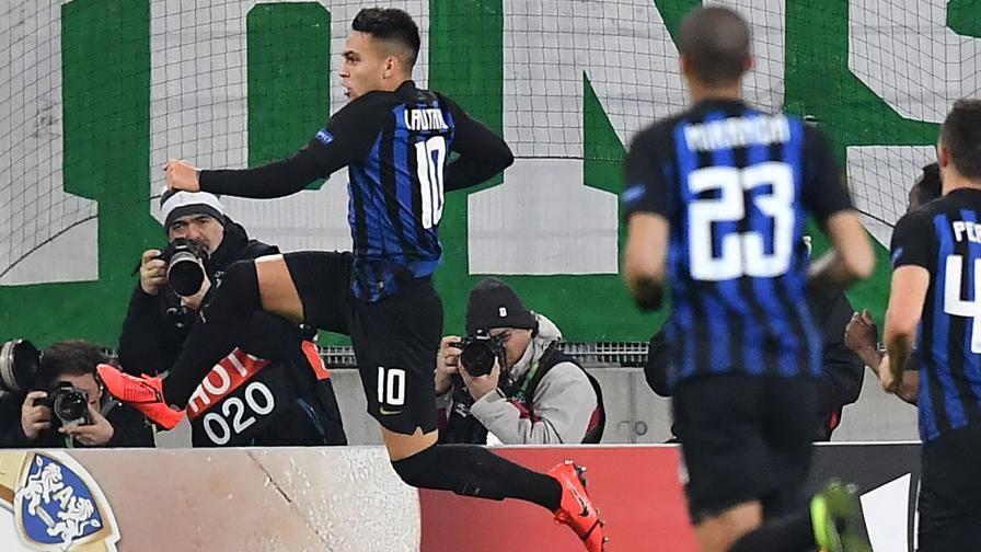 Lautaro scaccia le paure LIVE Rapid Vienna-Inter 0-1