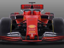 La prima immagine della nuova Ferrari