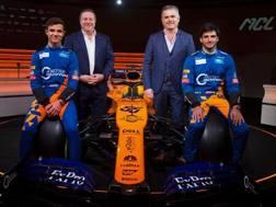Da sin Norris, Brown, De Ferran e Sainz con la MCL34