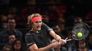 Il tedesco Alexander Zverev, vincitore del Masters 2018