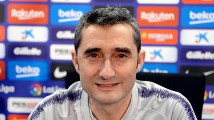 Ernesto Valverde, allenatore del Barcellona, 55 anni. AFP