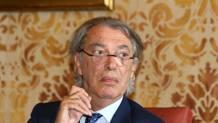 Massimo Moratti, ex presidente dell'Inter, 73 anni. LAPRESSE