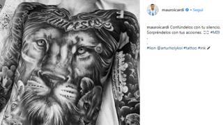 Il post di Icardi comparso su Instagram
