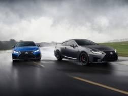 Lexus RC F e RC F Track Edition