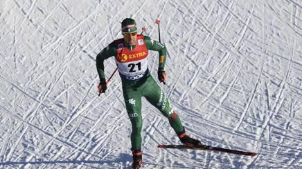 Federico Pellegrino, 28 anni, valdostano campione del mondo e vice campione olimpico. Ap