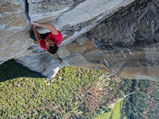 Alex Honnold, 33 anni, climber californiano