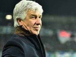 Gian Piero Gasperini, 61 anni, allenatore dell'Atalanta. Ansa