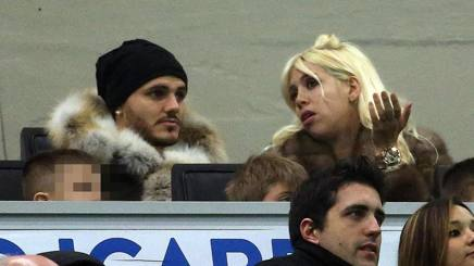 Mauro e Wanda Icardi. Ansa