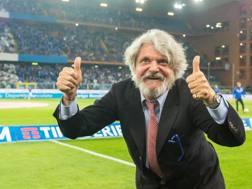 Massimo Ferrero, 67 anni. Ansa