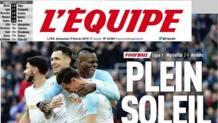 La prima pagina dell'Equipe