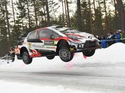 Ott Tanak, vincitore in Svezia. Getty