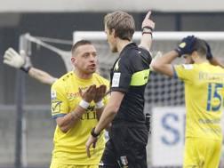 Emanuele Giaccherini, centrocampista del Chievo Verona. LAPRESSE