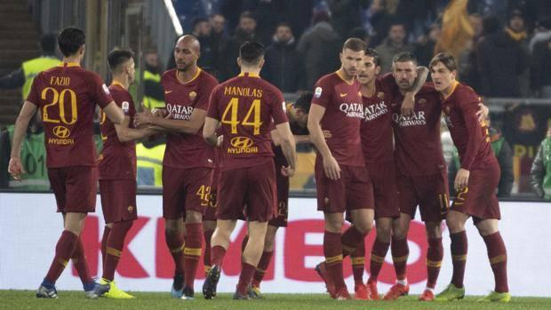 La Roma supera il Bologna all'Olimpico. Ansa