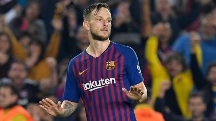 Ivan Rakitic, 30 anni, centrocampista croato del Barcellona Afp
