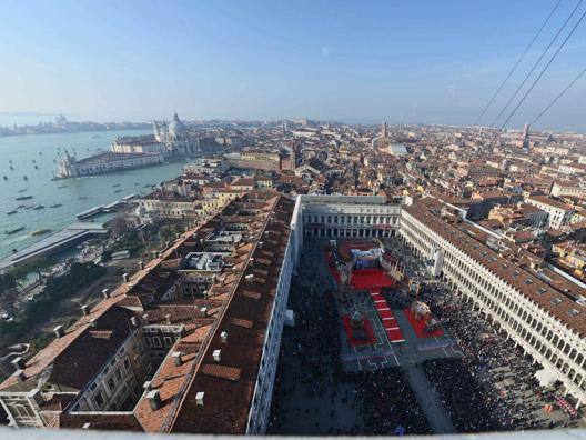 Piazza San Marco a Carnevale