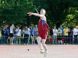 David Cittarella, 16 anni, atleta del settore giovanile delle Fiamme Oro. Foto Eduard Ardelean
