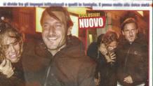 Francesco Totti, 42 anni, e Ilary Blasi,37 anni. EPA
