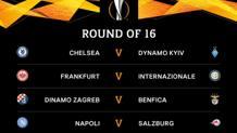 Sorteggiati gli ottavi di Europa League