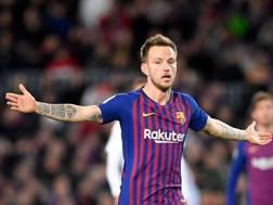 Ivan Rakitic, 31 anni, centrocampista croato del Barcellona. Afp