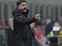 Gennaro Gattuso , allenatore del Milan, 41 anni. Getty