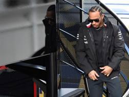 Lewis Hamilton, 33 anni, 5 volte campione del mondo: ha vinto 73 GP su 229 AFP