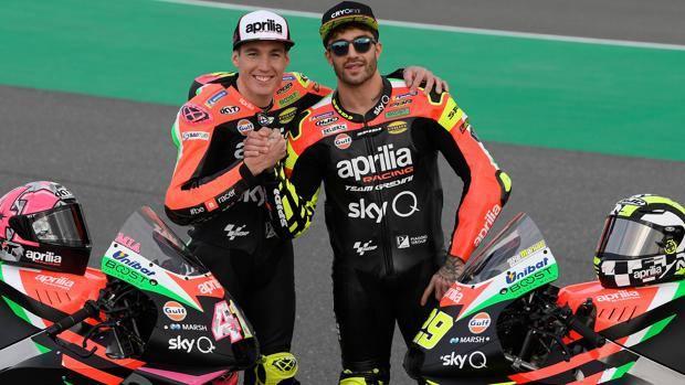 MotoGP L Aprilia torna alle origini nel look della nuova moto 2b9713c034c4