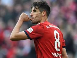 Javi Martinez , 30 anni, autore del gol vittoria. Afp