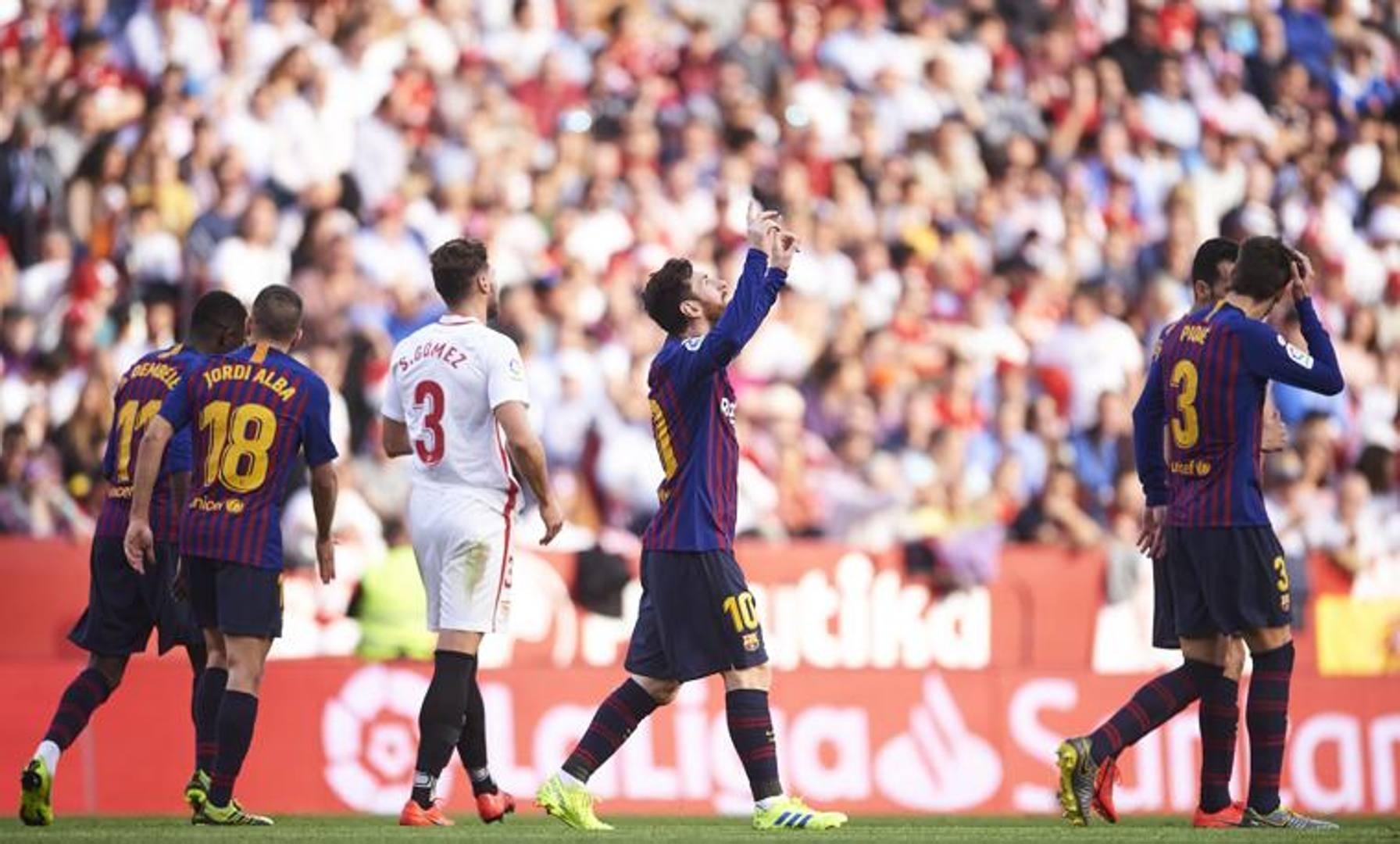 Liga, Siviglia-Barcellona 2-4. Tripletta e assist: è il Messi show