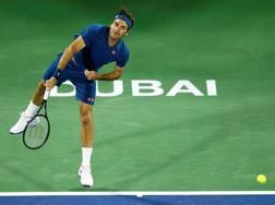 Roger Federer, 37 anni, è al numero 7 della classifica Atp. Epa