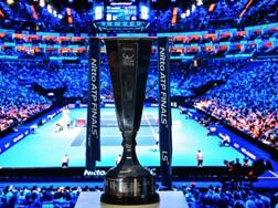 Le ultime Atp Finals lo scorso novembre a Londra. Afp